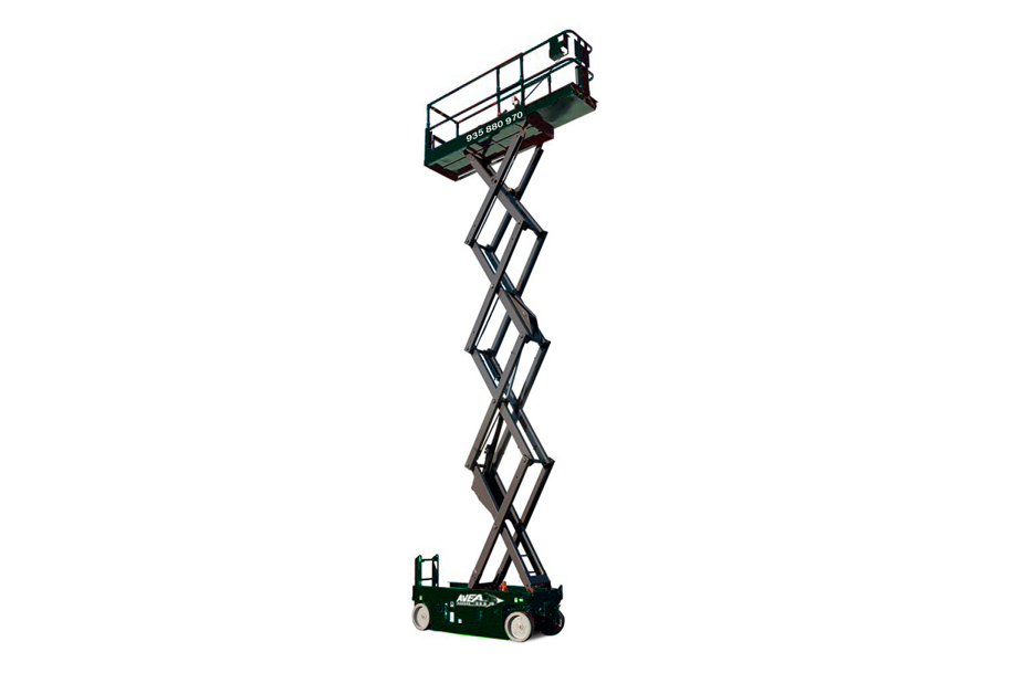 Scissor lift of up to 28 m